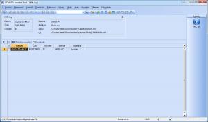 XML log po importu z Runis.eu