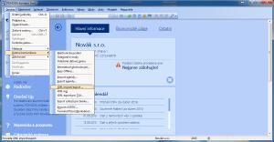 Spuštění importu XML z Runis.eu