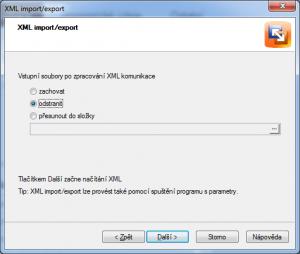 Xml import - zpracování souboru z Runis.eu v Pohodě